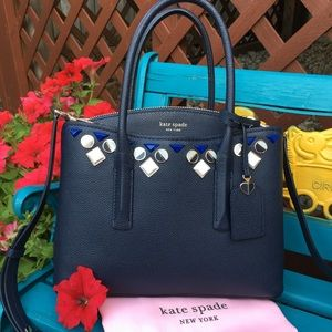 Kate spade jeweled satchel